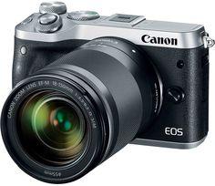 Фотоаппарат со сменной оптикой Canon EOS M6 18-150 IS STM (серебристый)
