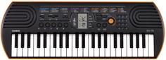 Синтезатор Casio SА-76 (оранжевый)