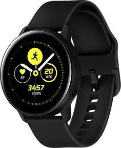 Умные часы Samsung Galaxy Watch Active (черный сатин)