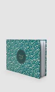 Альбом с мелким цветочным принтом на обложке Stradivarius