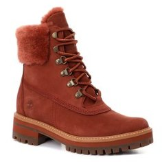 Ботинки TIMBERLAND Courmayeur Valley WP 6in w She коричневый