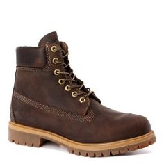 Ботинки TIMBERLAND Heritage 6 inch Premium темно-коричневый