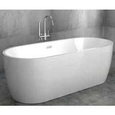 Акриловая ванна Abber 175,5x80 отдельностоящая (AB9219)