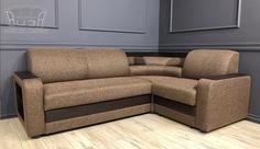 Угловой диван Виза 01 с баром