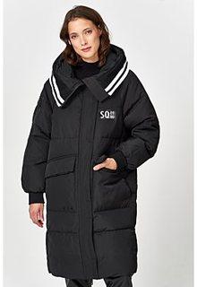 Утепленная куртка с отделкой трикотажем Neohit