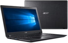 Ноутбук Acer Aspire A315-32-P5U9 Black NX.GVWER.016 (Intel Pentium N5000 1.1 GHz/4096Mb/500Gb/Intel HD Graphics/Wi-Fi/Bluetooth/Cam/15.6/1920x1080/Windows 10 Home 64-bit)