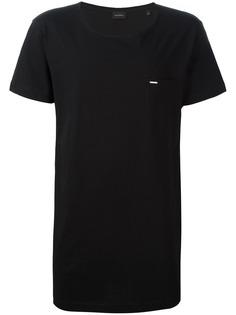 Diesel футболка с глубоким вырезом
