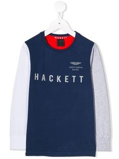Hackett Kids топ с длинными рукавами и логотипом