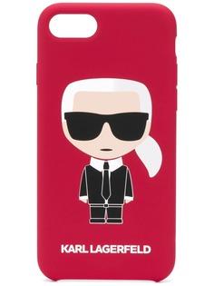 Karl Lagerfeld чехол Karl Ikonik для iPhone 8