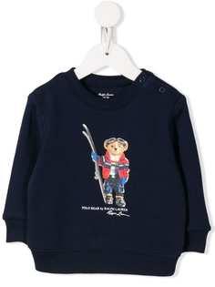 Ralph Lauren Kids свитер с принтом
