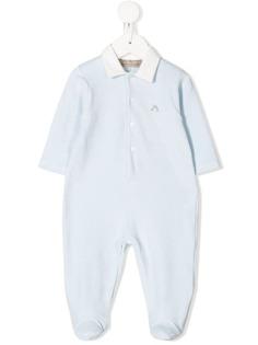 La Stupenderia пижама с длинными рукавами и вышивкой
