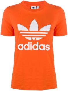 adidas футболка с логотипом Adidas Originals Trefoil