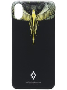 MARCELO BURLON COUNTY OF MILAN чехол MB Wings для iPhone XS