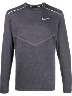 Nike джемпер с контрастным логотипом