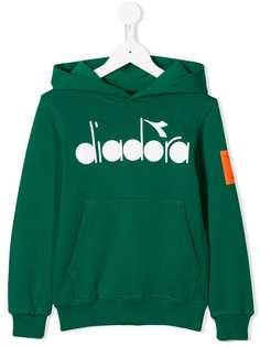 Diadora Junior свитер с капюшоном и логотипом