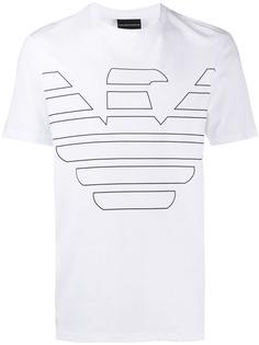 Emporio Armani футболка с логотипом