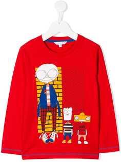Little Marc Jacobs свитер с принтом