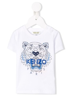 Kenzo Kids футболка с принтом