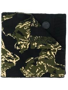 Diesel шарф с камуфляжным узором