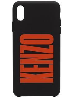 Kenzo чехол для iPhone X с логотипом