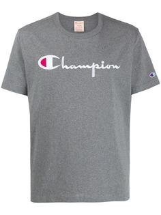 Champion футболка с вышитым логотипом
