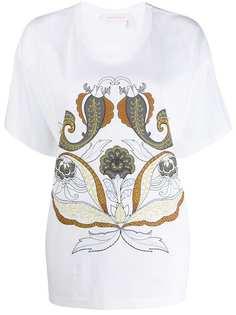 See By Chloé футболка с принтом пейсли