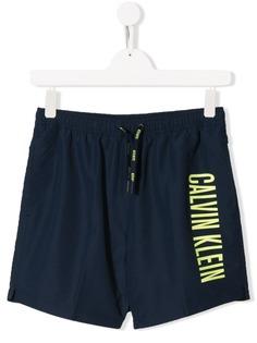 Calvin Klein Kids плавки-шорты с логотипом