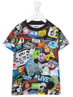 Molo Kids футболка со сплошным принтом