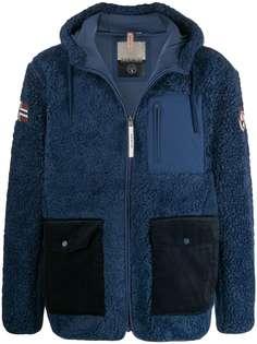 Napapijri куртка из шерпы