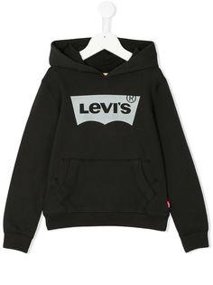 Levis Kids толстовка с капюшоном с логотипом
