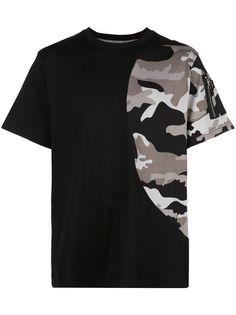 Mostly Heard Rarely Seen футболка с камуфляжным принтом