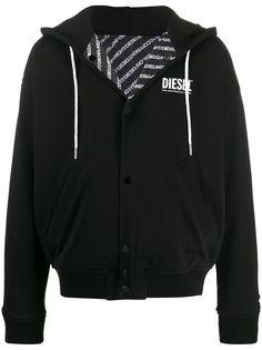 Diesel двусторонняя куртка с капюшоном