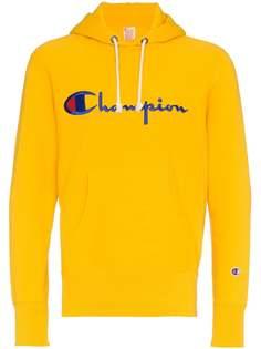 Champion толстовка с вышитым логотипом и капюшоном