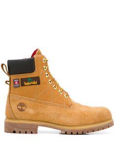 Timberland ботинки с нашивкой-логотипом