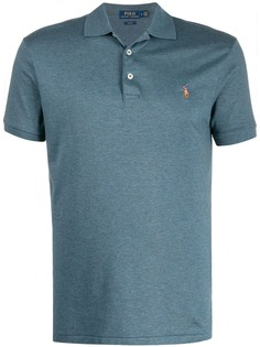 Polo Ralph Lauren рубашка-поло узкого кроя с логотипом