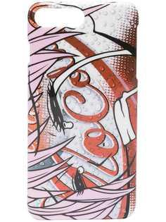Moschino чехол для iPhone 8+ с принтом Mo Cola