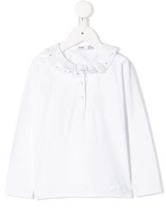 Knot рубашка-поло Atlanna с оборками