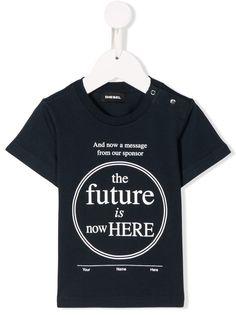 Diesel Kids футболка с принтом
