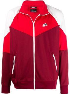 Nike спортивная куртка в стиле колор-блок