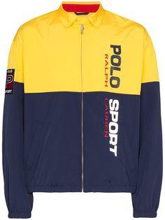 Polo Ralph Lauren куртка на молнии с логотипом