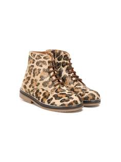 Pèpè ботинки с леопардовым принтом