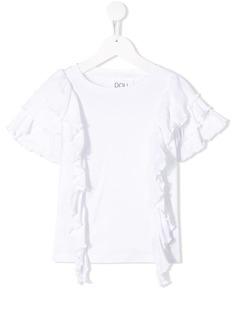 Douuod Kids футболка с оборками