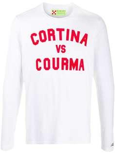 Mc2 Saint Barth футболка с длинными рукавами и принтом Cortina
