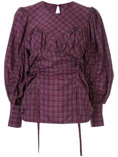Muller Of Yoshiokubo блузка Médina в клетку