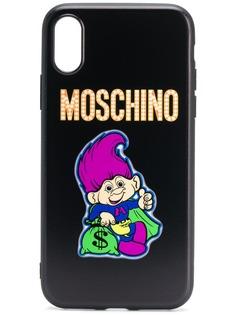 Moschino чехол для iPhone с принтом