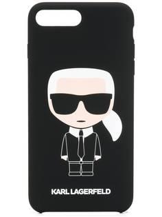 Karl Lagerfeld чехол Karl Ikonik для iPhone 8 Plus
