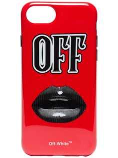 Off-White чехол Lips для iPhone 8