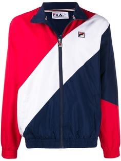 Fila спортивная куртка с диагональными полосками