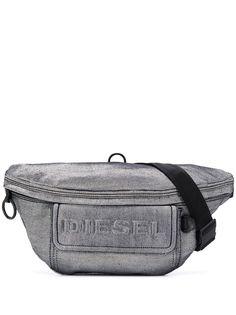 Diesel джинсовая поясная сумка