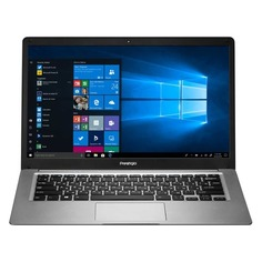 "Ноутбук PRESTIGIO SmartBook 141С3, 14.1"", Intel Atom X5 Z8350 1.44ГГц, 2Гб, 64Гб eMMC, Intel HD Graphics 400, Windows 10 Home, PSB141C03BGH_DG_CIS, темно-серый"